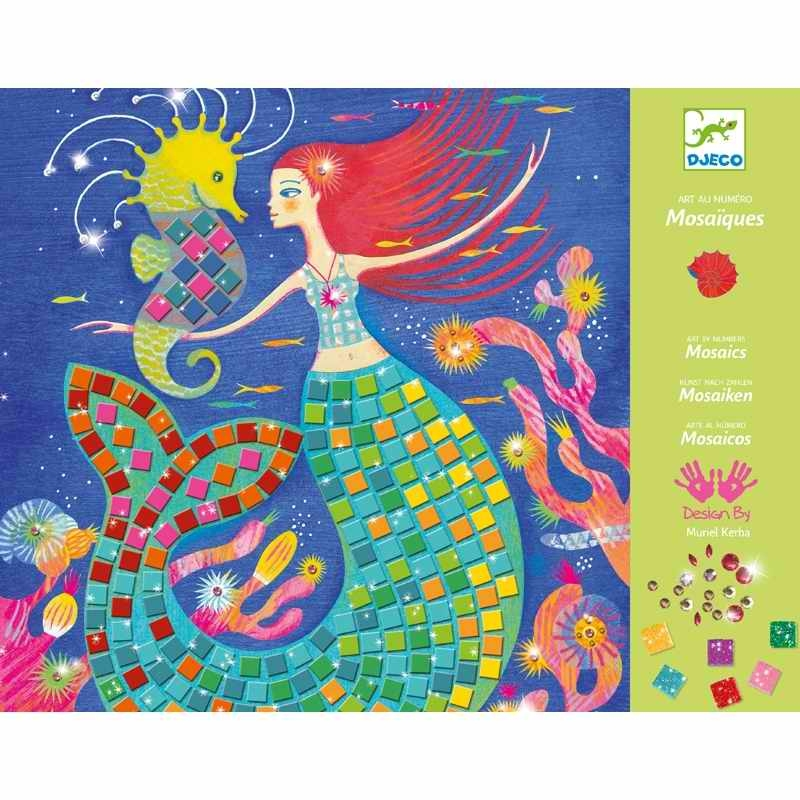 Mozaik készítő - A sellő éneke - The murmaids' song