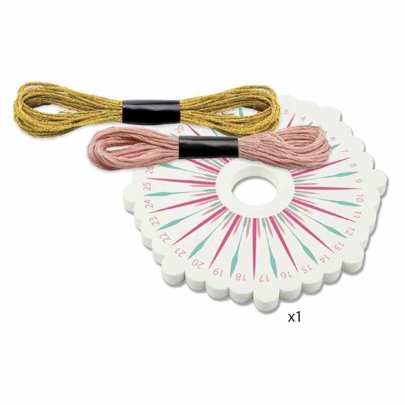 Ékszerkészító készlet - Kumihimo karkötők - Celeste