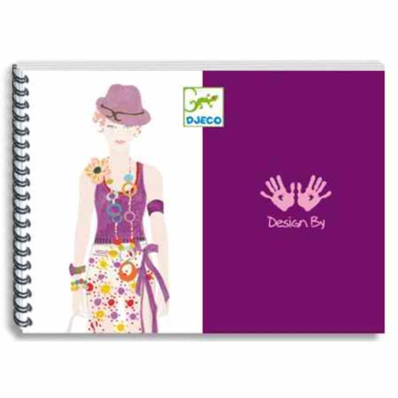 Divattervező műhely - Ruhatervező rajzkészlet - Drawing a fashion show