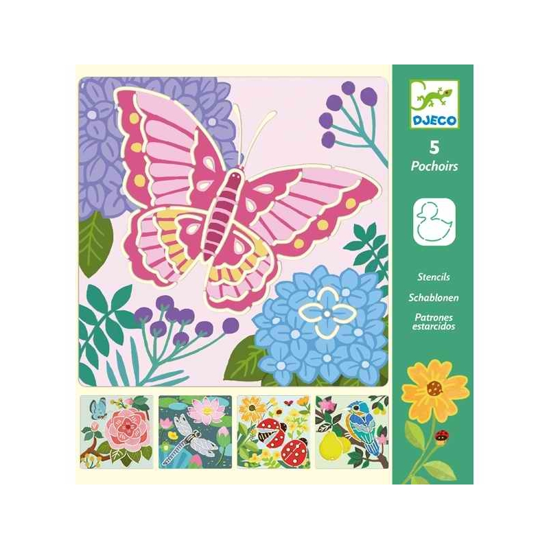 Rajzsablonok - Kerti szárnyak - Garden wings