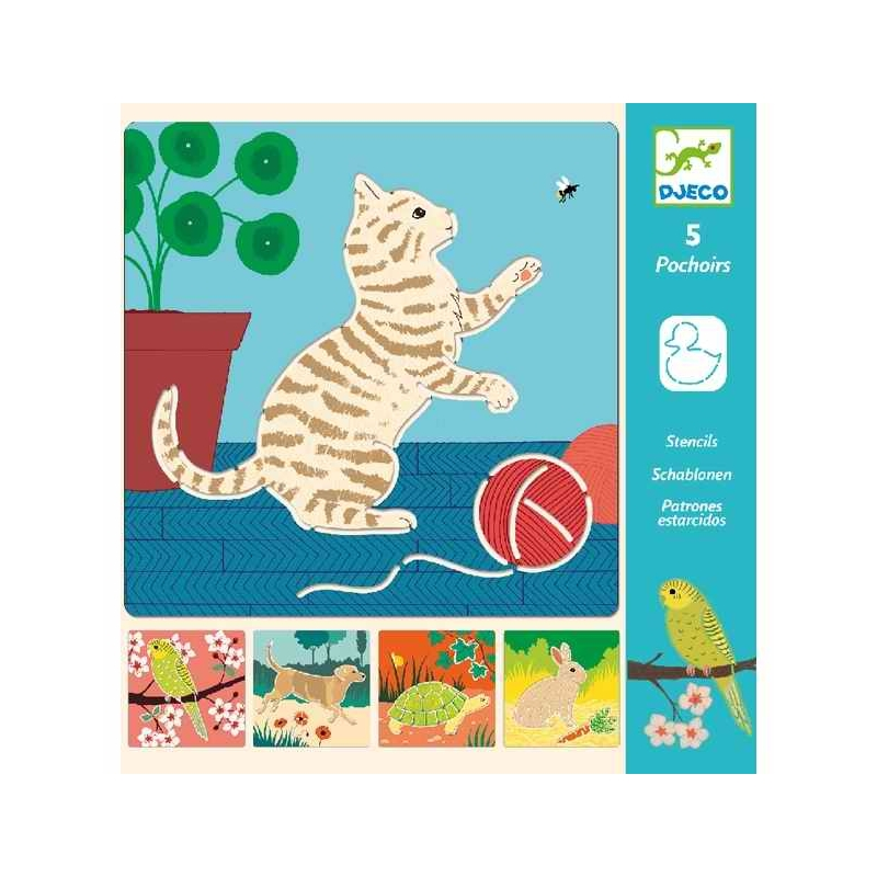 Rajzsablonok - Aranyos állatok - Cute companions