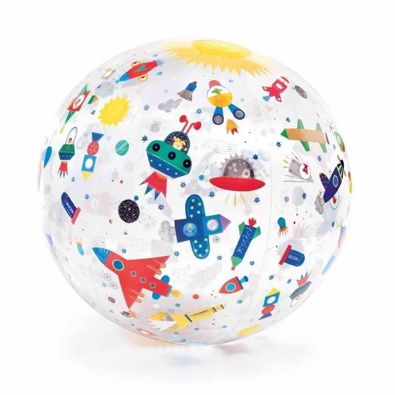 Felfújlató labda - Űrjárművek - Space ball