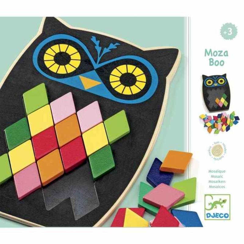 Képkirakó - Színes mozaik - Mosa Boo