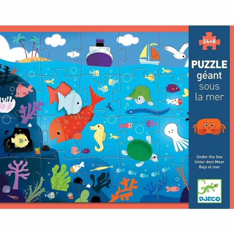 Óriás puzzle - A tenger alatt - Under the sea