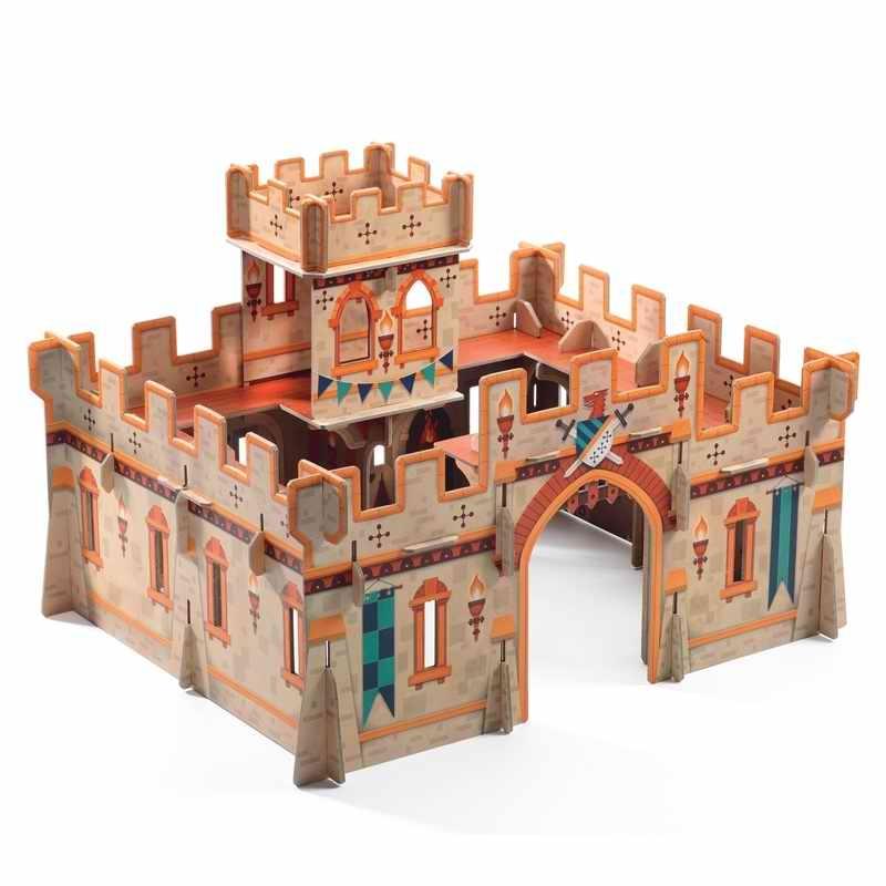 Építőjáték - Középkori vár - Medieval castle