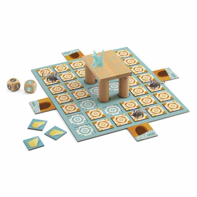 Társasjáték - Macska-egér játék - Chop Chop
