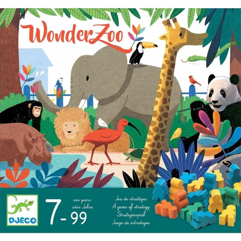 Társasjáték - Csodállatkert - WonderZoo