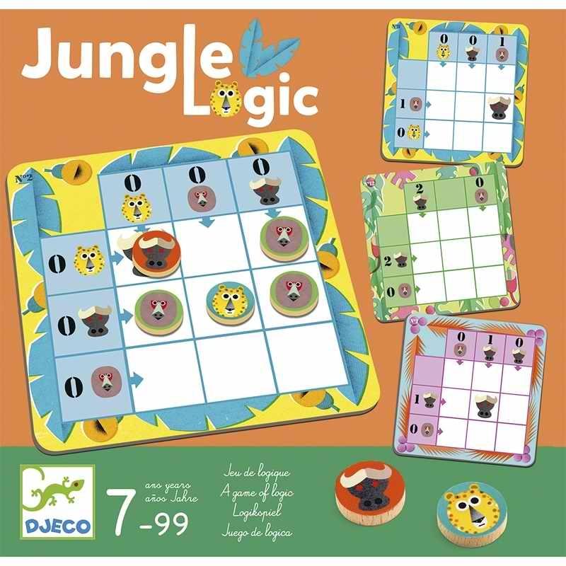 Logikai játék - Jaguár logika - Jungle Logic