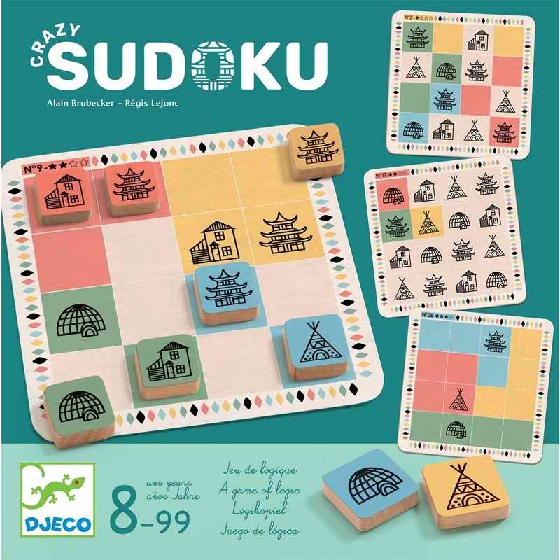 Logikai játék - Crazy sudoku