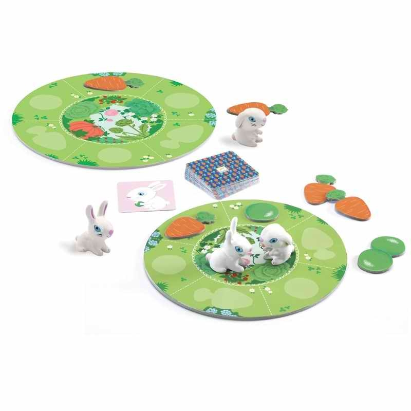 Társasjáték - Nyuszi ül a fűben - Little collect