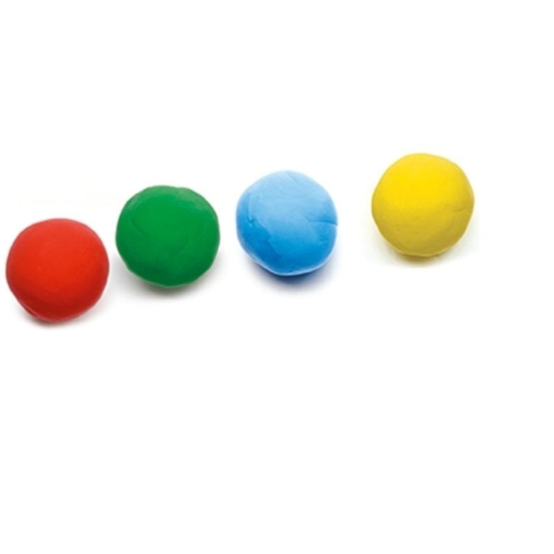 4 szín pillegyurma - 4 tubs of play dough
