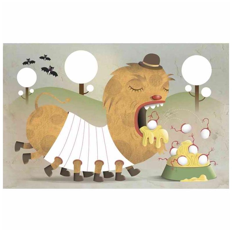 Ujjfestés - Kreált figurák - Decorate the creatures