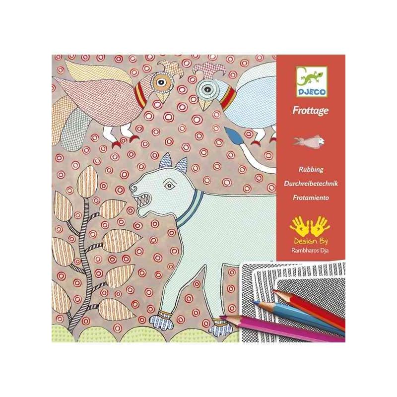 Művészeti műhely - Színező, Mítikus állatok - Mithila