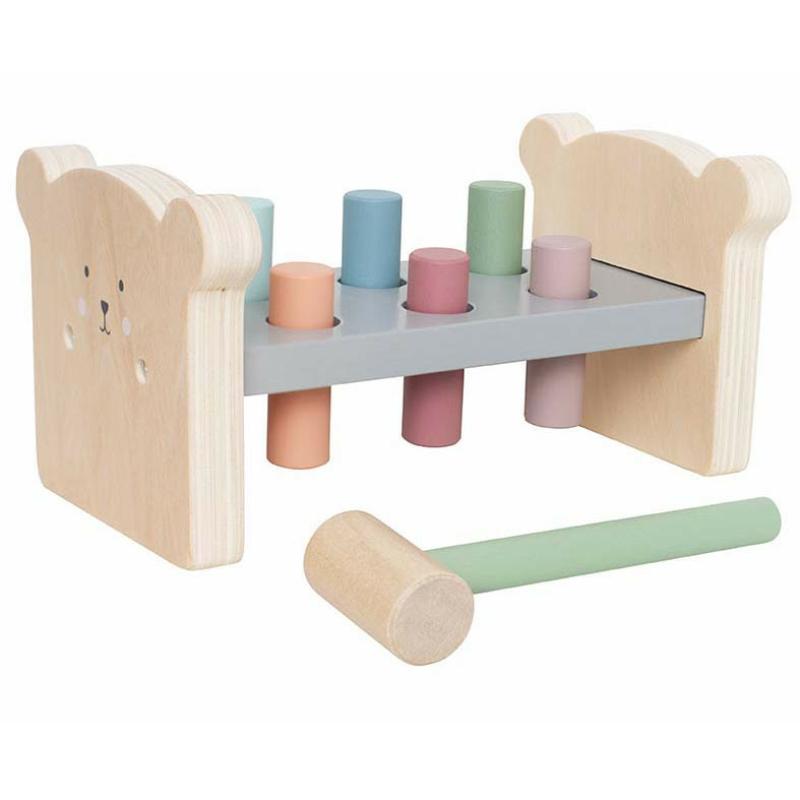 Fa kalapáló játék macis Jabadabado