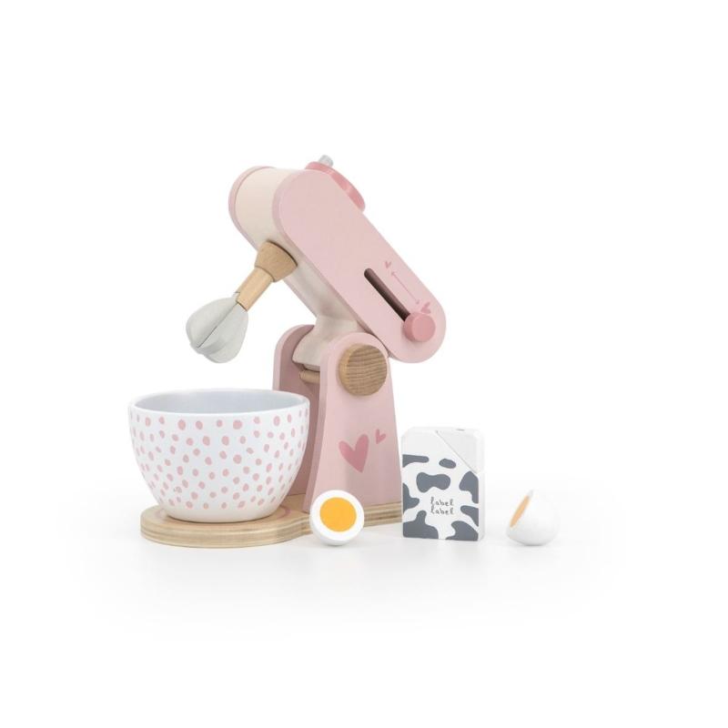 Fa játék mixer szett rózsaszín