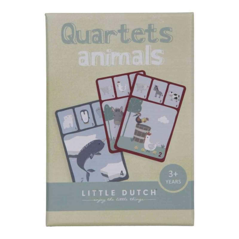 Little Dutch kvartett kártyajáték - állatok
