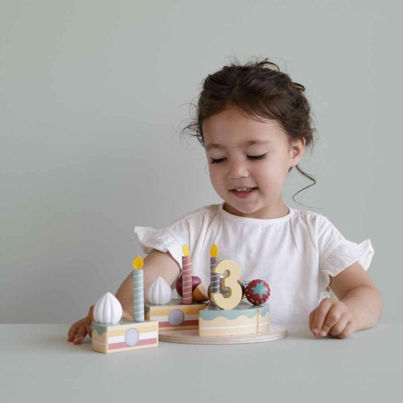 Little Dutch fa játék szülinapi torta XL