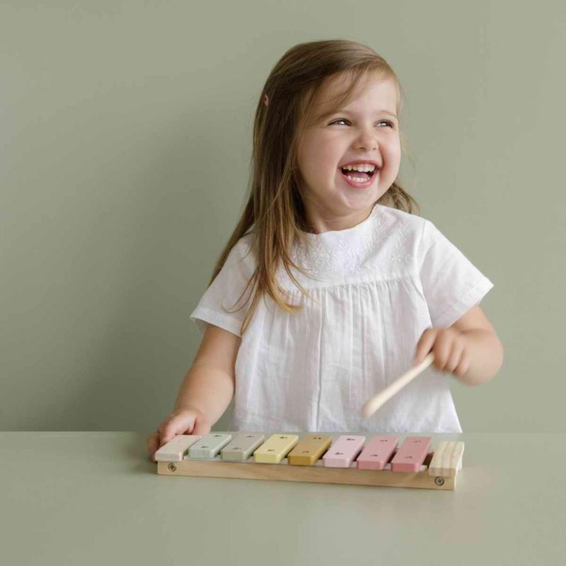 Little Dutch xilofon gyerekeknek - pink