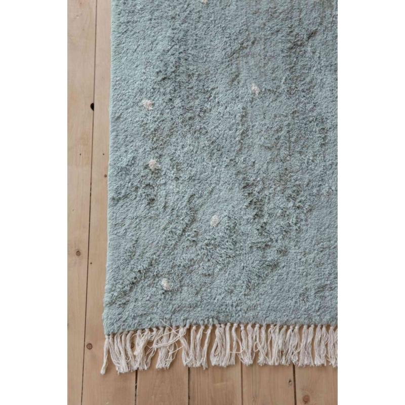 Menta pöttyös, 120x170 cm-es Little Dutch gyerekszőnyeg