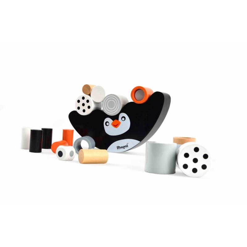 Magni pingvin egyensúlyozó fajáték