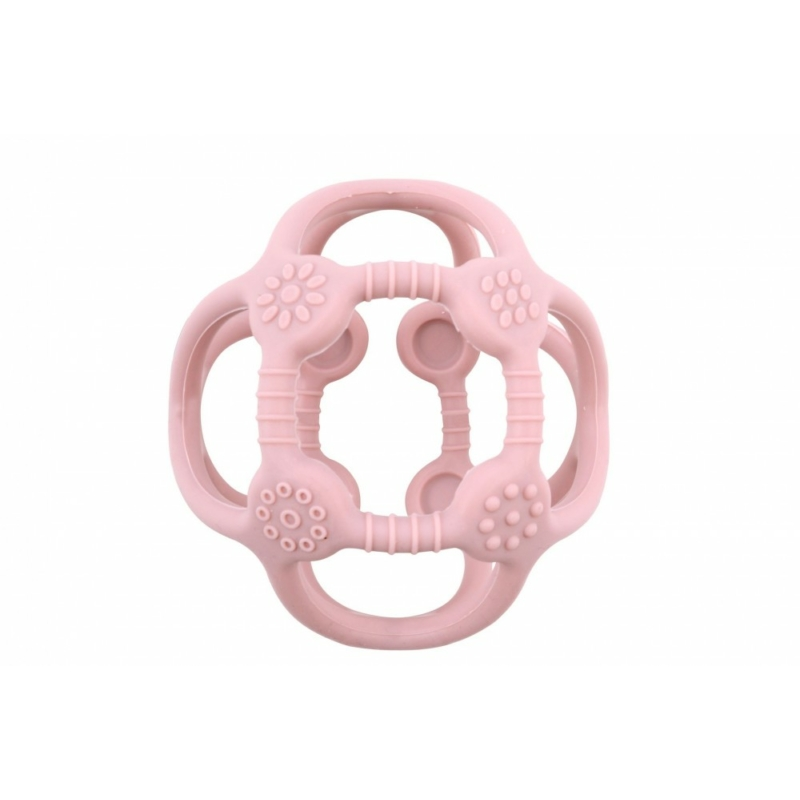 Fejlesztő szilikon labda, rózsaszín Magni