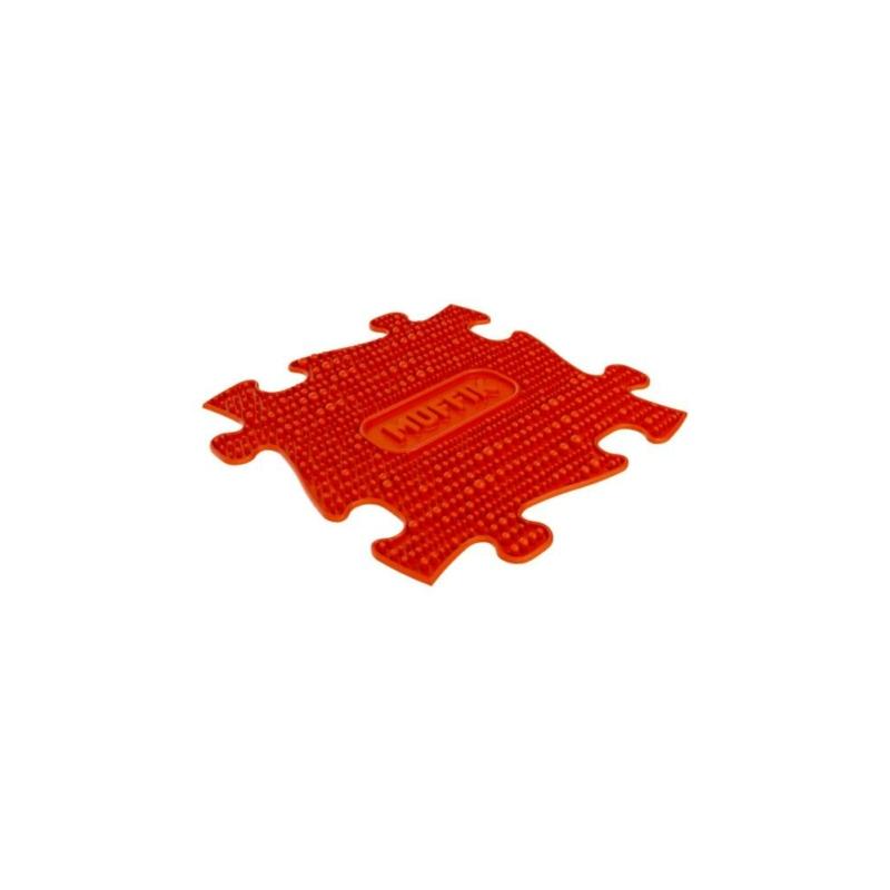 Muffik - puha puzzle - piros