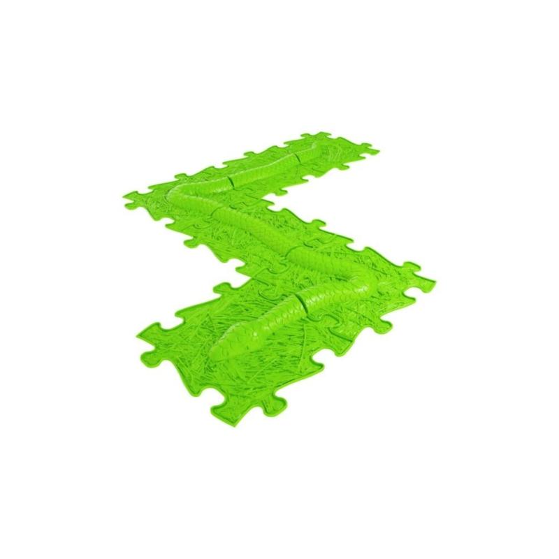 Muffik - 6 db-os kígyó szett - lime