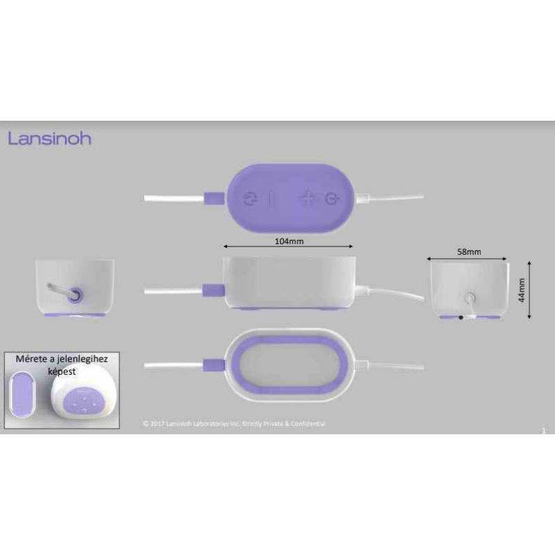 2 fázisú kompakt elektromos mellszívó