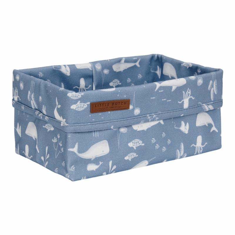 Little Dutch tároló doboz óceán kék 25x15 cm