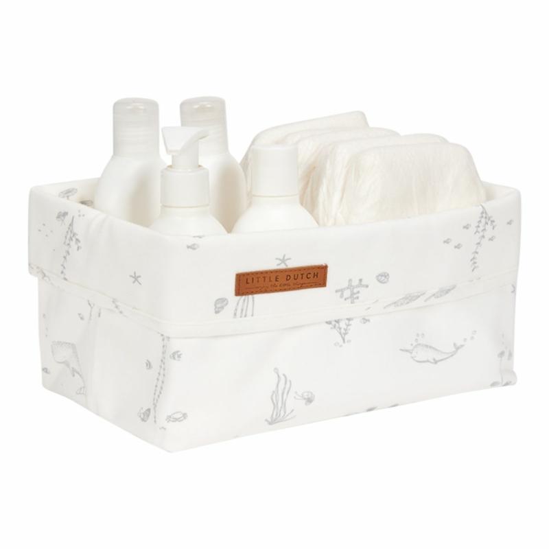 Little Dutch tároló doboz óceán fehér 25x15 cm