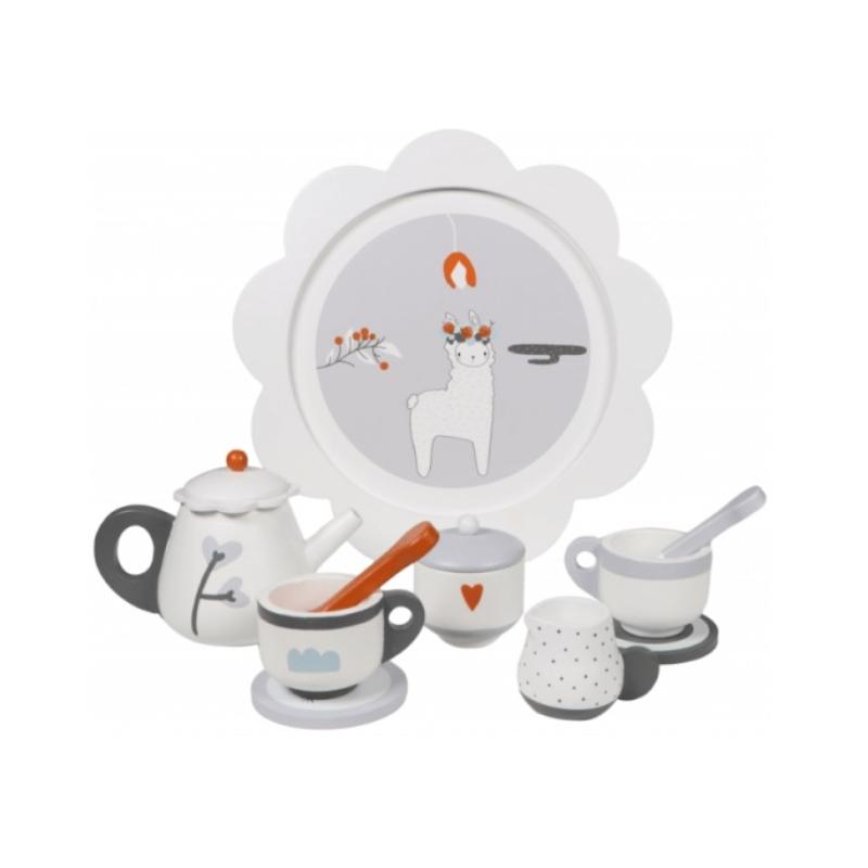 Fa játék teás készlet